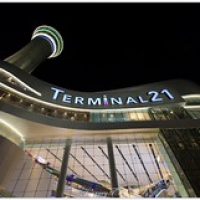 """Terminal 21 at night • <a style=""""font-size:0.8em;"""" href=""""http://www.flickr.com/photos/146118314@N07/32722113455/"""" target=""""_blank"""">View on Flickr</a>"""