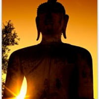 "Buddha at Sundown • <a style=""font-size:0.8em;"" href=""http://www.flickr.com/photos/146118314@N07/32681719936/"" target=""_blank"">View on Flickr</a>"
